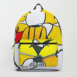 Sunny Abstract #1 Backpack