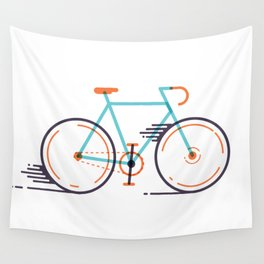 speed bike Wall Tapestry