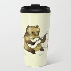 Bear & Fox Metal Travel Mug