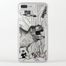 The Tyrant Clear iPhone Case