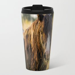 Autumn Horse Travel Mug