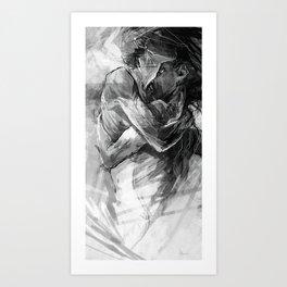 Lovers no.1 Art Print