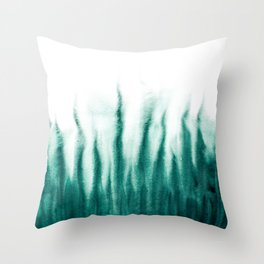 Forest smell - Watercolor - Dibujados Throw Pillow