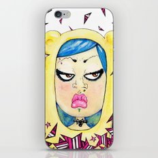Doky Bear iPhone & iPod Skin