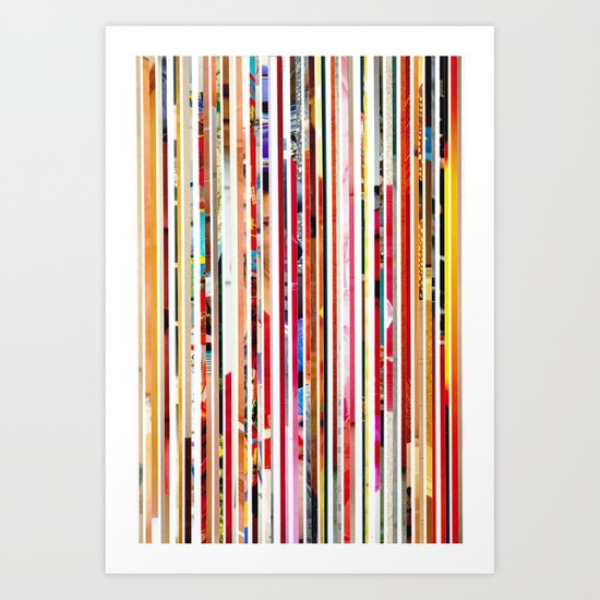 Cut Off Art Print