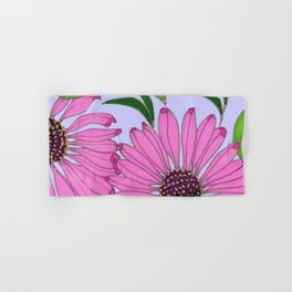 Echinacea on Lavender Hand & Bath Towel
