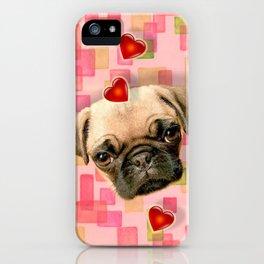 Puggy iPhone Case