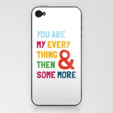 & Then Some More iPhone & iPod Skin