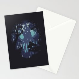 kodama Spirit Stationery Cards