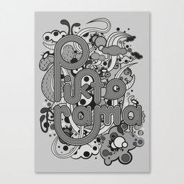 Piktorame tribute. Canvas Print
