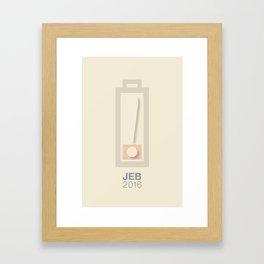 low-energy Framed Art Print