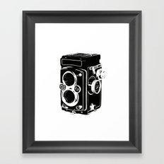 Analog power Framed Art Print