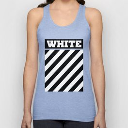 Off White Unisex Tank Top