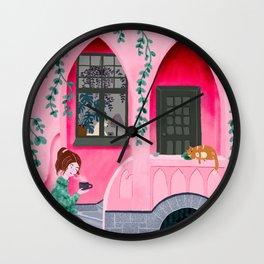 Huvila house Wall Clock