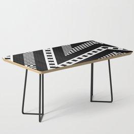 Subway Plaid Geometrics RR90 M5I180O90 Coffee Table