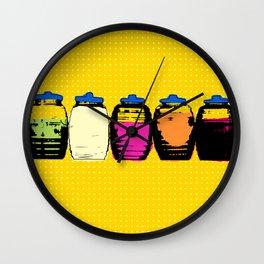 Aguas Frecas Wall Clock