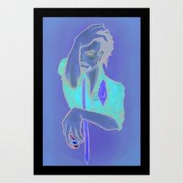 Run Dry Art Print