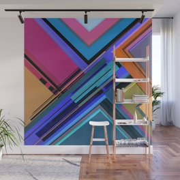 Abstract Composition 611 Wall Mural