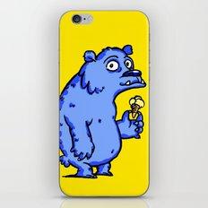 Dude on Icecream iPhone & iPod Skin