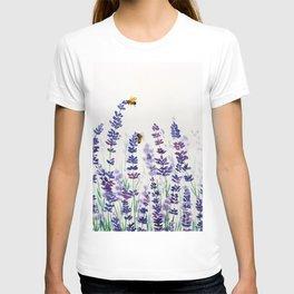 Lavender Bees T-shirt