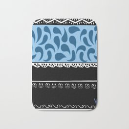 Traditional colors country Portugal Douro Litoral Bath Mat