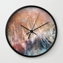 Muddy waters Wall Clock