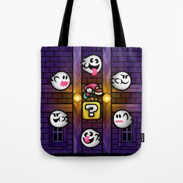 Boos in the Haunted House Tote Bag