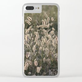 Spring Sunrise on the Farm Clear iPhone Case