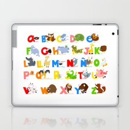 ABC (spanish) Laptop & iPad Skin