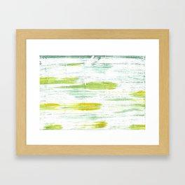Mint cream Framed Art Print