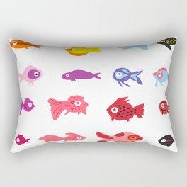 Fish collection Rectangular Pillow