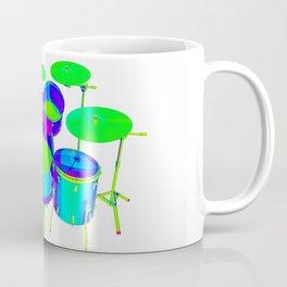 Colorful Drum Kit Coffee Mug