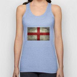 Flag of England (St. George's Cross) Vintage retro style Unisex Tank Top