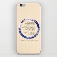 alaska iPhone & iPod Skins featuring Alaska by Sarah Turbin