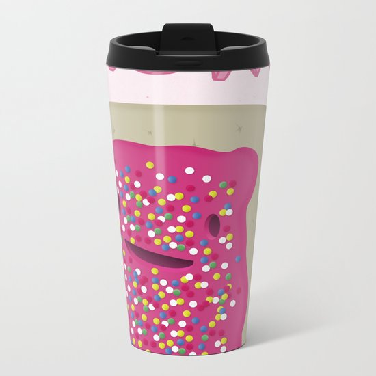Nom Metal Travel Mug