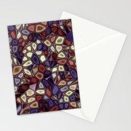 Fractal Gems 01 - Fall Vibrant Stationery Cards