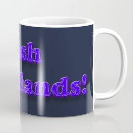 Wash your Hands BLUE Coffee Mug