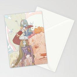 Spring Bull Stationery Cards