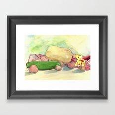 Fall Harvest Framed Art Print