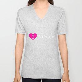 I Heart Frasier | Love Frasier Unisex V-Neck