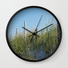 Sand Dune on LBI Wall Clock