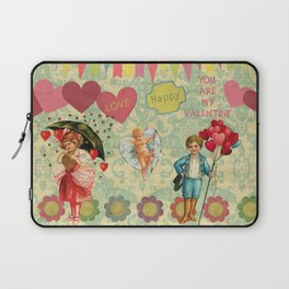 You are my valentine, love and be loved Laptop Sleeve