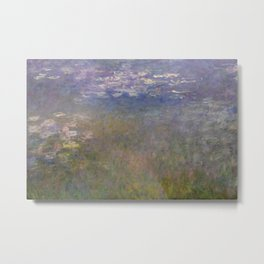 Monet, Water Lilies, 1915-1926 Metal Print