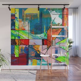 Escape Reality - Abstract Expressionism Wall Mural