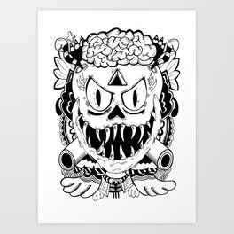 Need more brains! Art Print