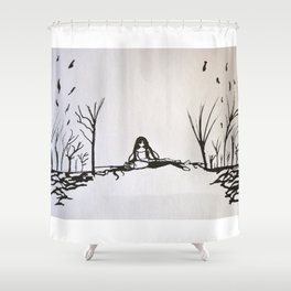 Tribute to Miguel Hernandez #3 Shower Curtain