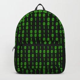 Binary Code Inside Backpack