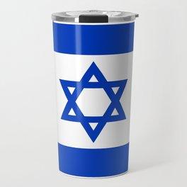 National flag of Israel Travel Mug