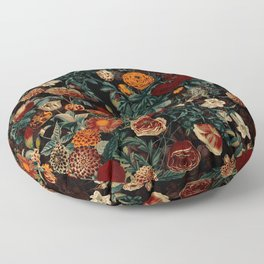 EXOTIC GARDEN - NIGHT XXI Floor Pillow
