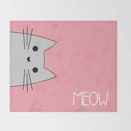 Meow Throw Blanket